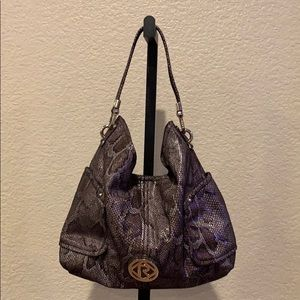 Relic Snake Skin Reptile Purse Bag Hobo Satchel